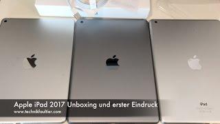 Apple iPad 2017 Unboxing und erster Eindruck - dooclip.me