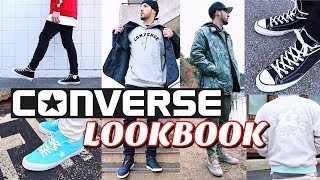 CONVERSE LOOKBOOK - How To Style Converse Sneakers - Chuck Taylors - One Stars - Fast Break