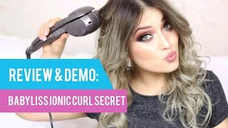 Bucle rapide cu BaByliss Ionic Curl Secret by Special Koko