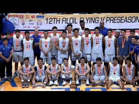 Finals: ADMU vs SBU | Filoil Flying V Preseason Cup 2018