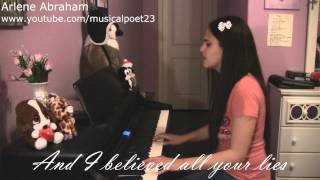 """""""Butterfly"""" by Christina Perri (piano + vocal cover)"""
