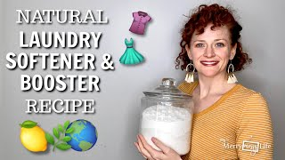 DIY Laundry Booster And Softener Recipe