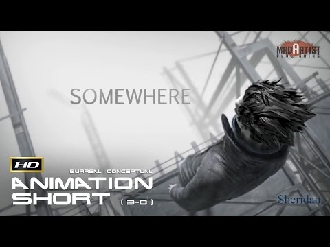 "CGI 3D Animated Short Film ""SOMEWHERE"" Surreal Animation by Sheridan College"