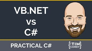 VB.NET vs C# - A comparison of the two languages, how they are different, and where they are going