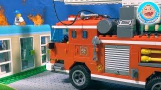 Истории для детей про профессии - подбираем машинки