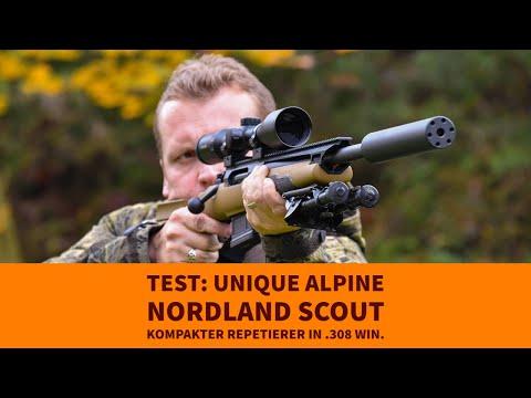 Test: Unique Alpine JPR-1 Nordland Scout − unsere ersten Eindrücke vom Repetierer im GRS-Schaft mit 2 Videos