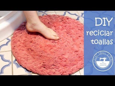 Alfombras De Baño Con Toallas Recicladas