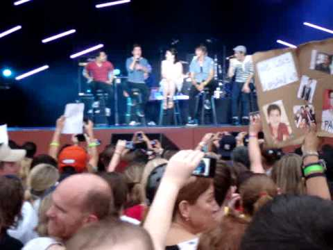 Big Time Rush Live Universal Studios Orlando concert Song #6 Worldwide