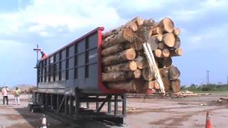 Log Container Loading