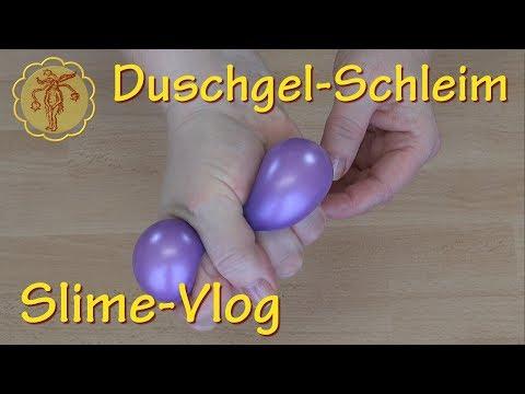 Slime-Vlog: Duschgel-Schleim im Test - nur 2 Zutaten