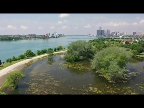 Significant portions of Belle Isle flooded