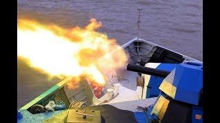 80多艘小船瞬间齐射 664枚导弹从天而降 专打航母战斗群