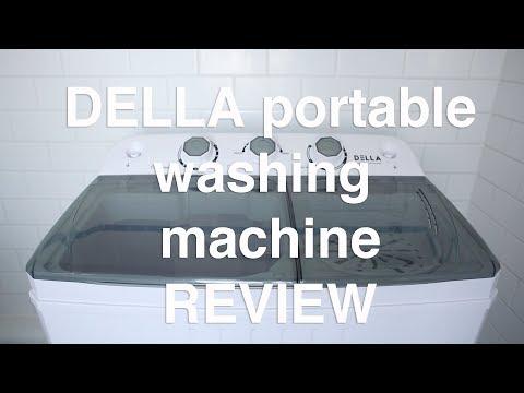 👍💦 DELLA $100 Portable Washing Machine REVIEW