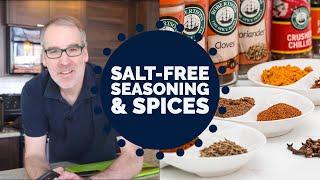 My Favourite Salt Free Seasonings & Spices