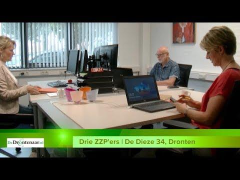 VIDEO | Drie ZZP'ers openen gezamenlijk kantoor aan De Dieze 34 in Dronten