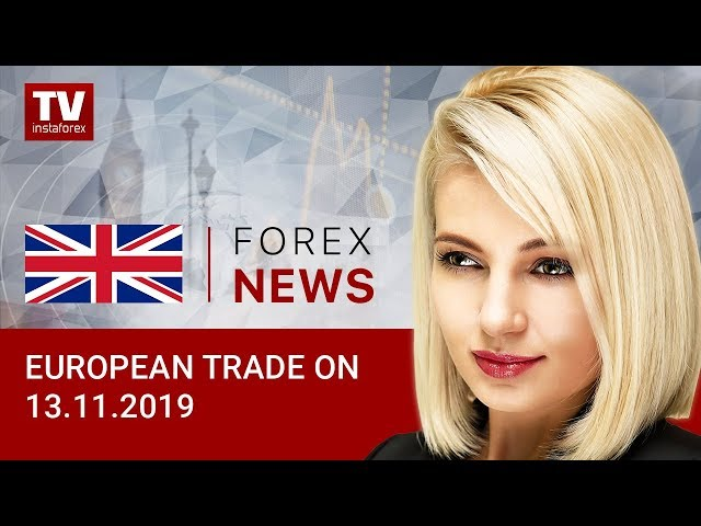 13.11.2019: Euro and pound muted as traders await news from US (USD, EUR, GBP)