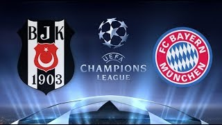 Футбол/ Лига Чемпионов УЕФА/  Бешикташ  -  Бавария 14.03.2018