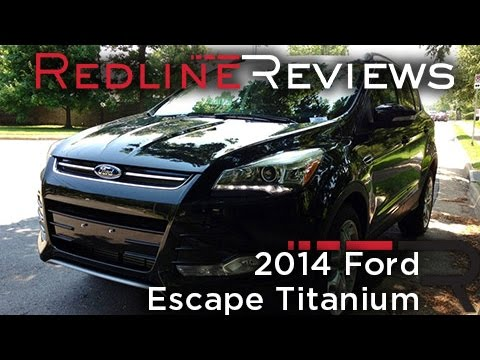 2014 Ford Escape Titanium Review, Walkaround, Exhaust & Test Drive