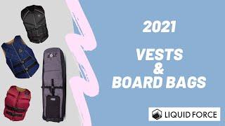 2021年モデル紹介 ベスト&ボードバッグ!!