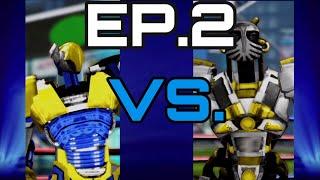 Real Steel Champions Battles EP.2: Evora VS. Golem