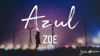 Azul   Zoé  Letra