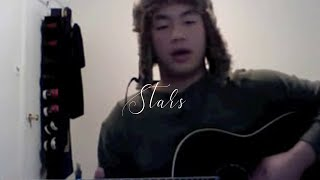 the xx - stars acoustic guitar cover