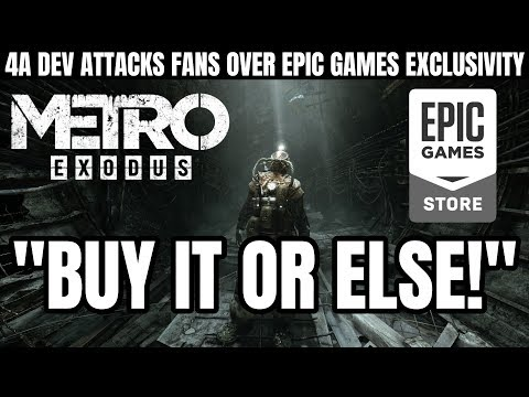Metro Exodus Developer Attacks and Threatens Fans Over Epic Games Store Exclusivity Backlash