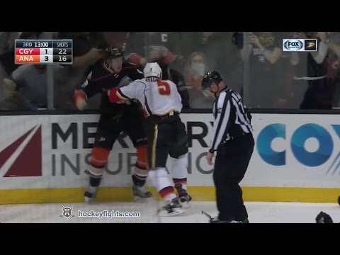 Josh Manson vs. Mark Giordano
