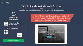 Flat Fee MLS Listing FSBO Q&A Session - June 2015