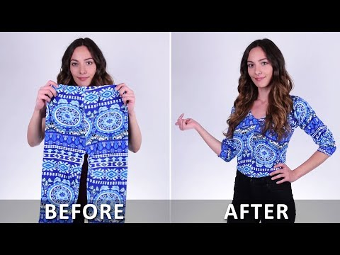 Super Cool Clothing Hacks You Must Try! DIY Ideas by Blossom