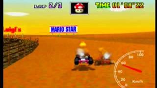 MK64 - KD 3lap - 2'04''82 (NTSC: 1'43''81)