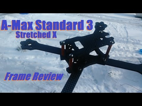 A-Max Standard 3 Stretched X Frame Review from Banggood