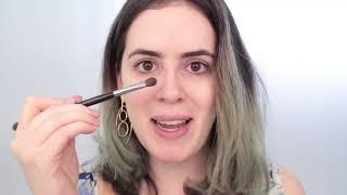 Maquiagem lilás/roxa para festa de virada do ano novo 2018/2019