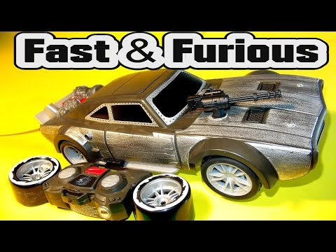 Cars Fast & Furious Blast And Burn Dodge ICE Charger With Missiles And Wheelies