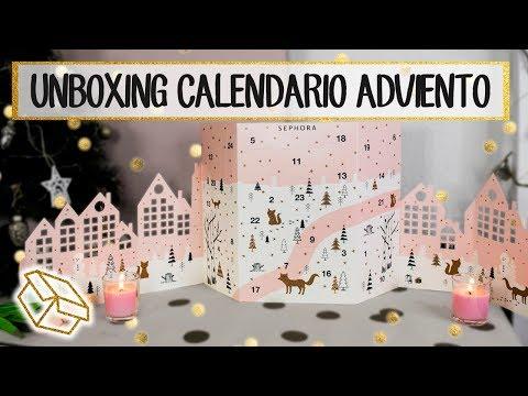 Unboxing calendario de adviento de Sephora | ¿Qué hay en el interior?