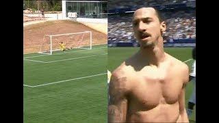 Златан Ибрагимович научил американцев забивать голы с центра поля