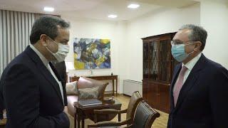ՀՀ ԱԳ նախարար Զոհրաբ Մնացականյանն ընդունեց Իրանի ԱԳ նախարարի տեղակալ Աբբաս Արաղչիին