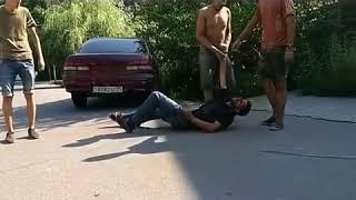Задержание автовора в Алматы