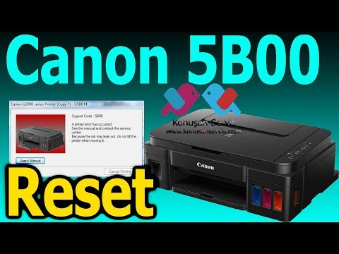 Download How To Hard Reset Canon Printer Error Video 3GP Mp4 FLV HD