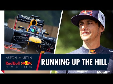 Running Up The Hill | Patrick Friesacher takes the RB8 for a ride at Goodwood