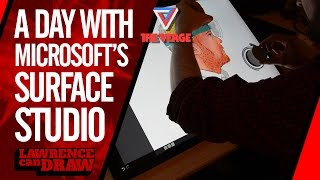A day with the Microsoft Surface Studio