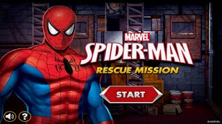 Marvel Spider-Man Rescue Mission Gameplay Episode | Best Kid Games | Spiderman Games