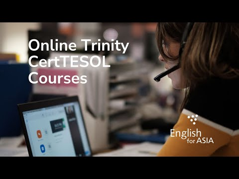 Online Trinity CertTESOL Courses - YouTube