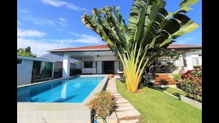 Large and Open Three Bedroom Private Pool Villa for Sale in Cherng Talay