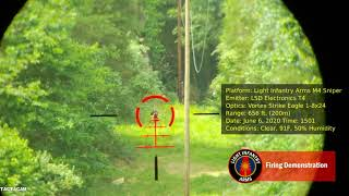 Firing Demonstration – 656ft/200m