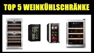 TOP 5 BESTE Weinkühlschrank Modelle ★ Weinklimakühlschrank ★ Wein richtig kühlen - Schrank für Wein