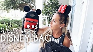 Whats In My Disney Bag | Disney Park Travel Tips