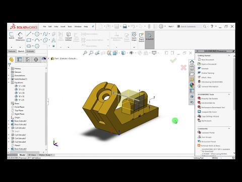 SolidWorks 2017 | CSWP Sample Exam - YouTube
