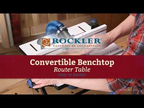 Convertible Benchtop Router Table – Short