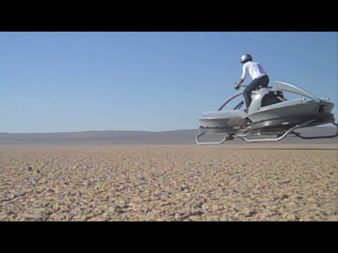 Hover 'Bike' Flies on Pilot's Intuition | Video